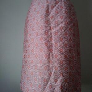 NWT Banana Republic Brocade Print Pencil Skirt